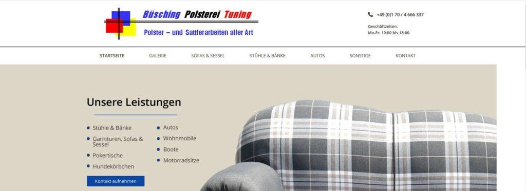 Polsterei Büsching